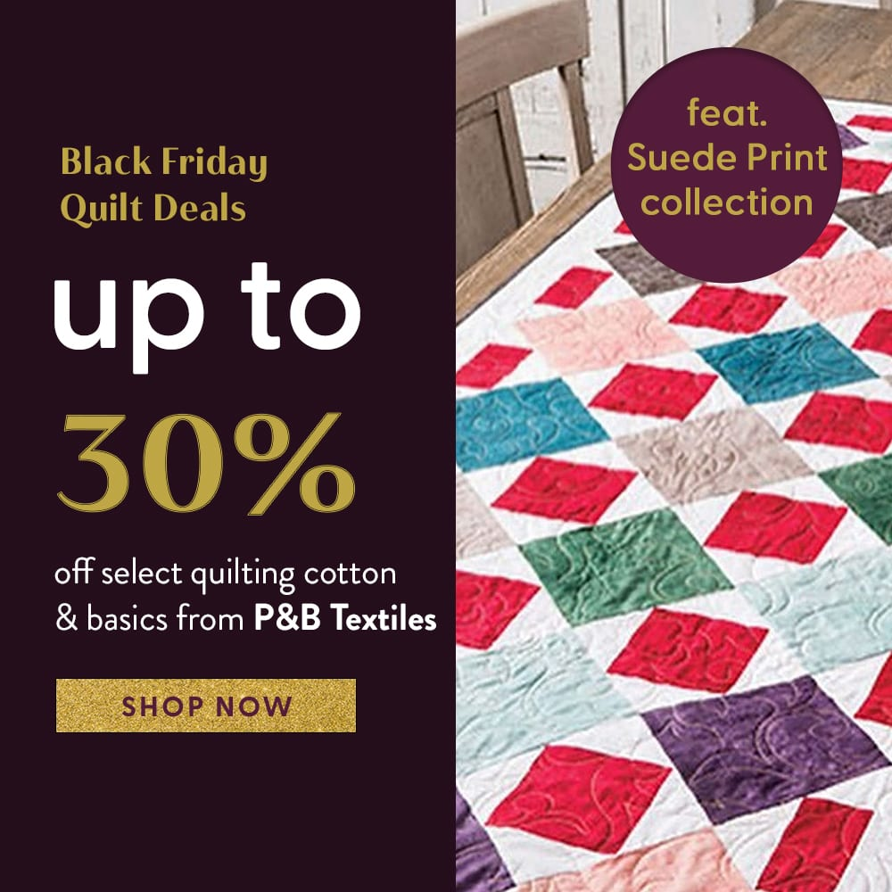 P & B Textiles Black Friday Sale