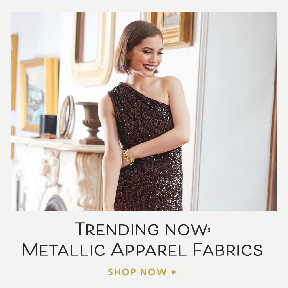 Metallic Apparel Fabrics