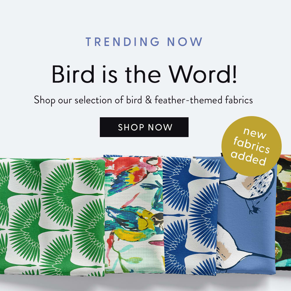 Bird is the Word - Shop Bird & Feathers fabrics