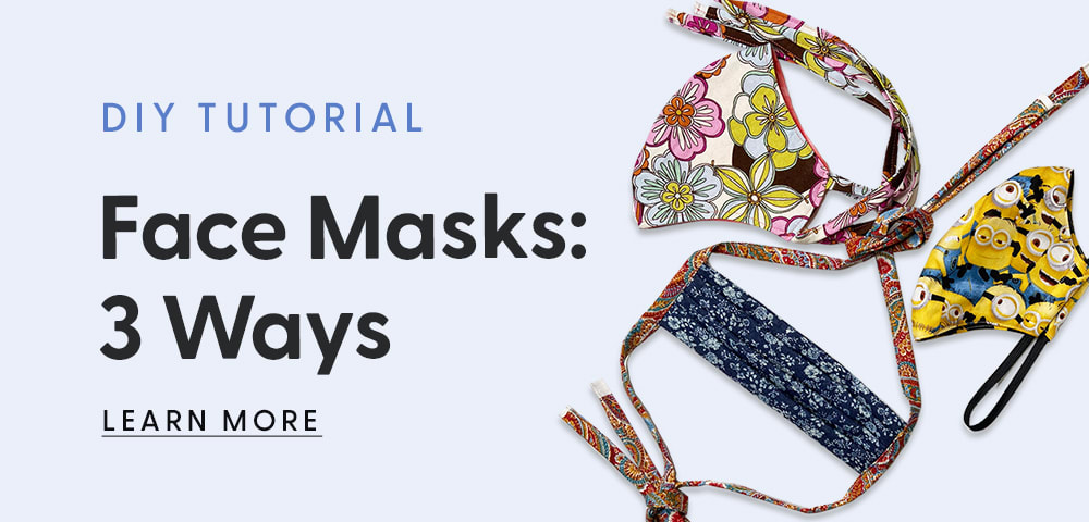 Face Masks: 3 Ways