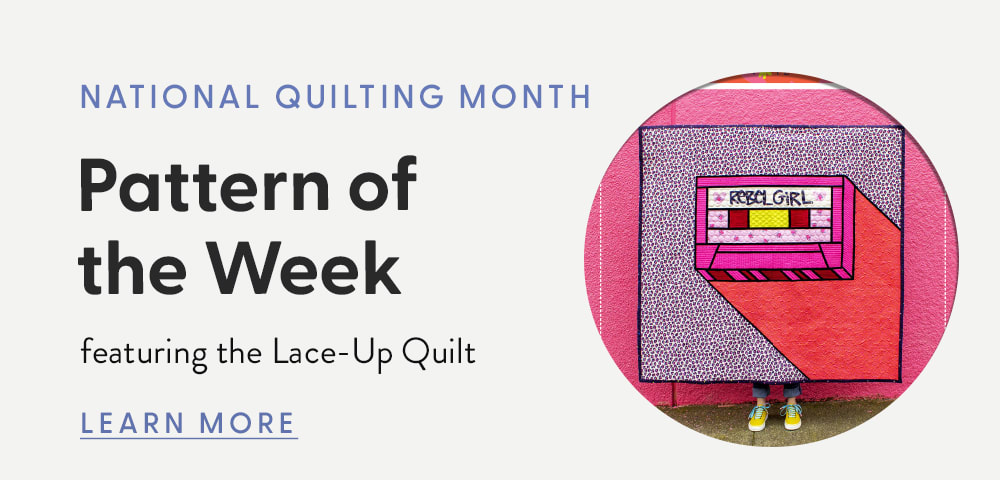 National Quilting Month Free Pattern of the Week