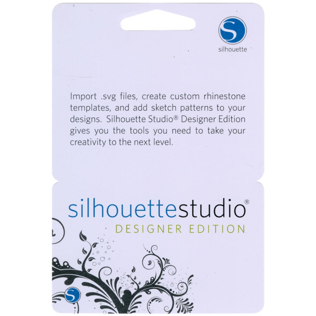 Silhouette Studio Designer Edition Upgrade Card Fabric Com