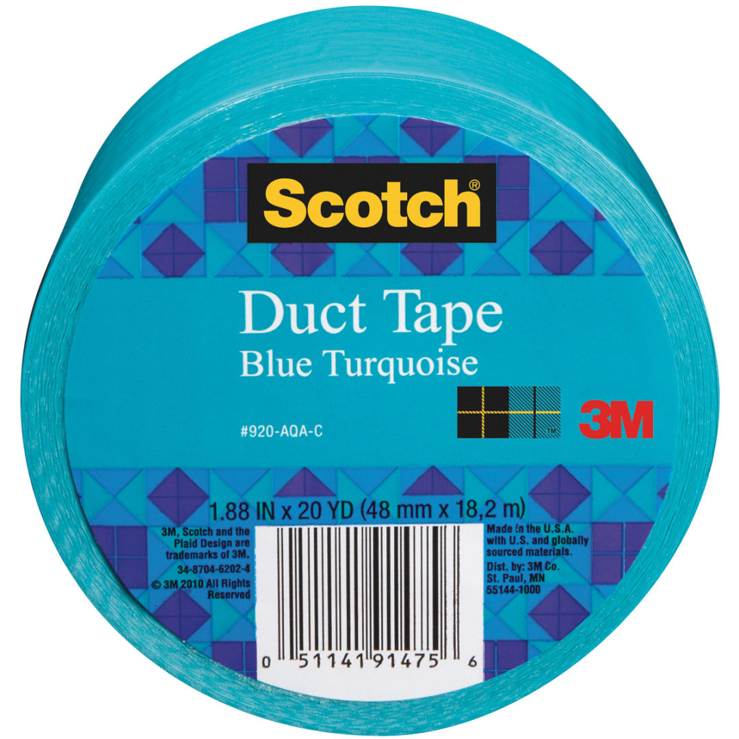 "Scotch Solid Duct Tape 1.88/""X20yd-Pearl White"