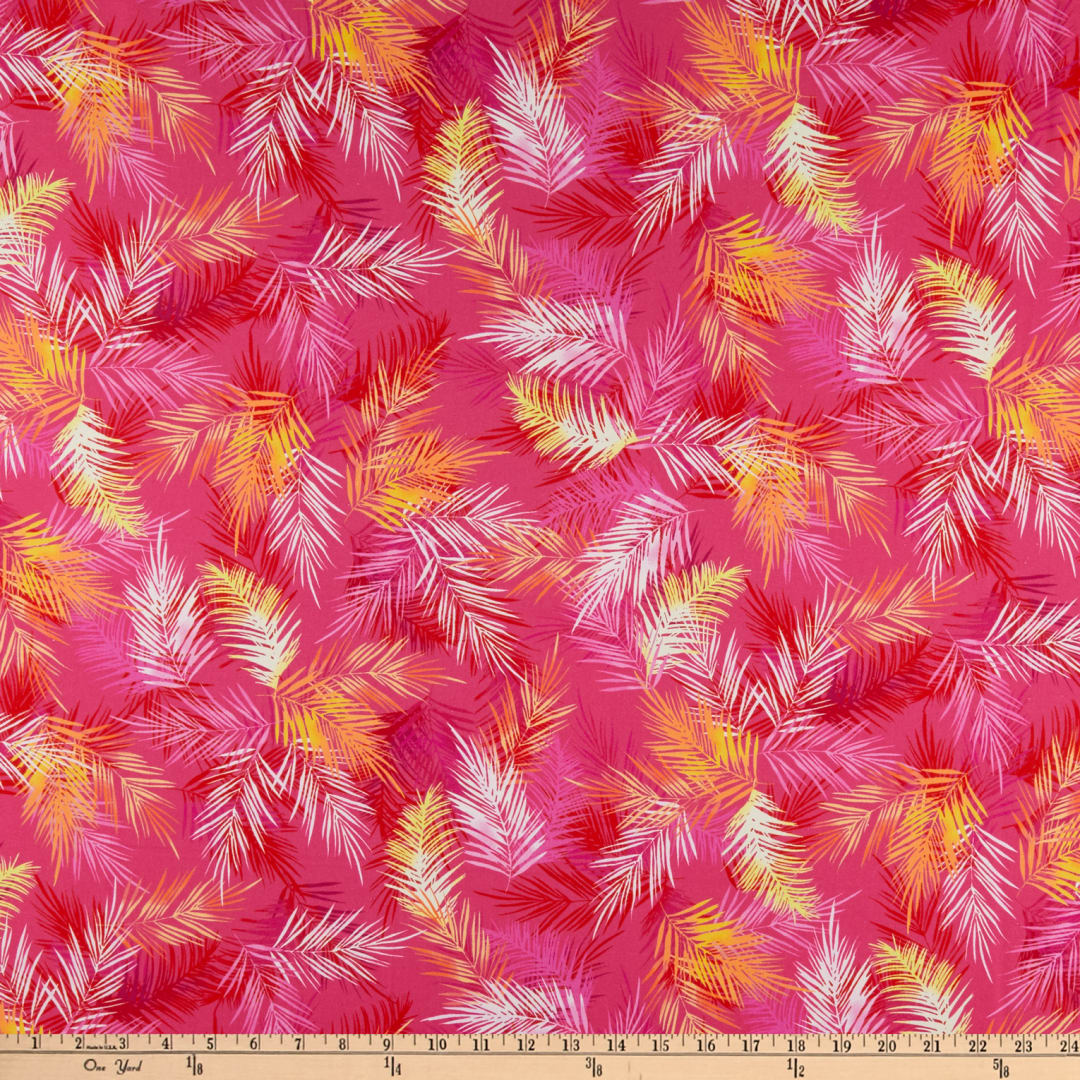 Kanvas Tropical Breeze Island Palm Leaves Pink Fabric Com You are here: pngio.com » leaves background » tropical leaves on pink background ~ nature photos ~ creative market. kanvas tropical breeze island palm leaves pink