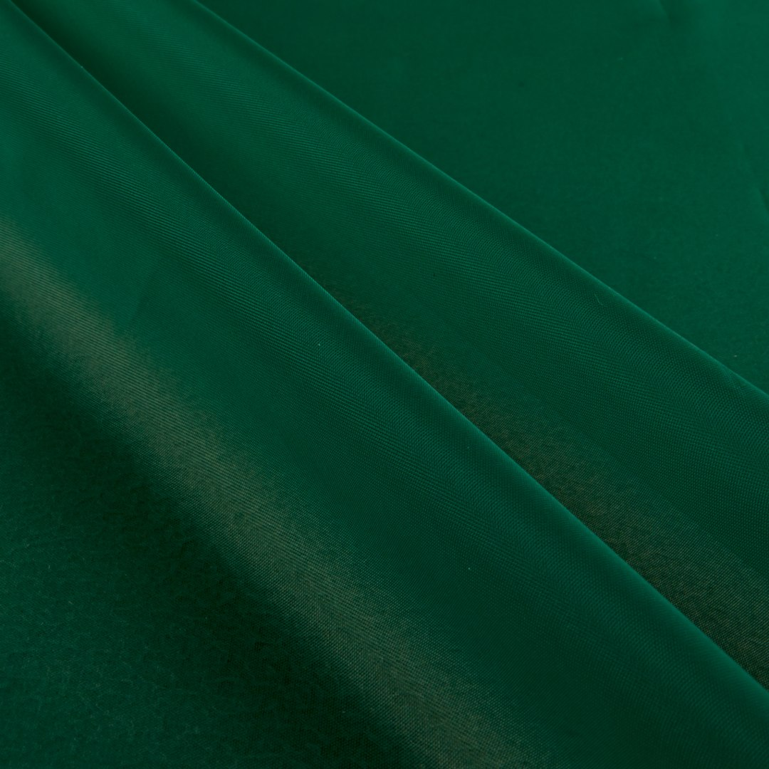 Sheer Voile Emerald Green Fabric Com