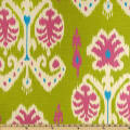 Home Accents Caftan Ikat Kiwi Green