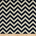 Premier Prints Indoor/Outdoor Zig Zag Deep Blue
