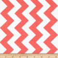 Riley Blake Medium Chevron Rouge