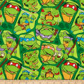 Nickelodeon Teenage Mutant Ninja Turtles Heros in a Half Shell Toss Green