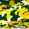 University of Oregon Fleece Camo Green/Yellow