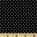 Riley Blake Swiss & Dots Black