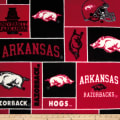 Collegiate Fleece University of Arkansas