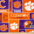 Collegiate Fleece University of Clemson