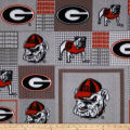 Collegiate Fleece University of Georgia Red/Black