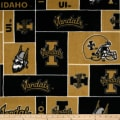 Collegiate Fleece University of Idaho Black