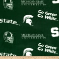 Collegiate Fleece Michigan State University Green
