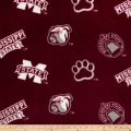 Collegiate Fleece Mississippi State Burgundy
