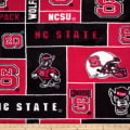 Collegiate Fleece North Carolina State University Red