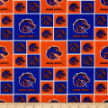Collegiate Cotton Broadcloth Boise State