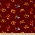 Collegiate Cotton Broadcloth Iowa State