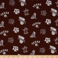 Collegiate Cotton Broadcloth Texas A&M