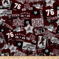 Collegiate Cotton Broadcloth Texas A&M Multi