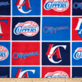 NBA Fleece Los Angeles Clippers Blue
