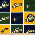 NBA Fleece Utah Jazz Block
