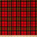 Flannel Scottie Plaid Red