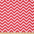 Flannel Chevron Red/White
