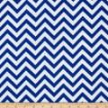 Flannel Chevron Royal/White