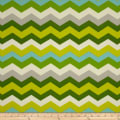 Waverly Sun N Shade Panama Wave Mint Julep Outdoor