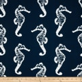 Premier Prints Indoor/Outdoor Seahorse Oxford