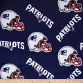 NFL Fleece New England Patriots Tossed Helmets