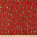 Holiday Blitz Embroidered Red/Green