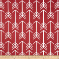Premier Prints Arrow Macon Timberwolf Red