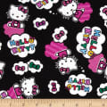 Hello Kitty Cloud Toss Black