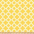 Riley Blake Quatrefoil Yellow