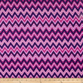 Kaufman Cool Cords Chevron Purple