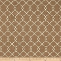 Waverly Sun N Shade Chippendale Fretwork Mocha Outdoor