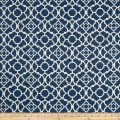 Waverly Lovely Lattice  Lapis Sateen