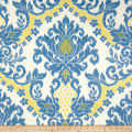 Waverly Bedazzle Ikat Blend Blue Sky
