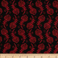 Contempo Feathers Black/Red