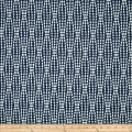 Waverly Strands Jacquard Navy