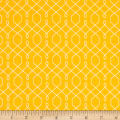 Michael Miller Emma's Garden Lovely Lattice Yellow