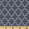 Pearl Essence Quatrefoil Black Metallic