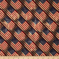 Made in the USA Antique Flags Red,Blue, Antique