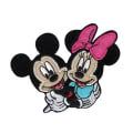 Disney Mickey Mouse Iron On Applique Mickey & Minnie