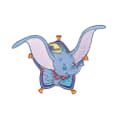 Disney Dumbo Iron On Applique Dumbo Flying