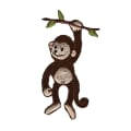 Wrights Iron On Applique Monkey On Branch
